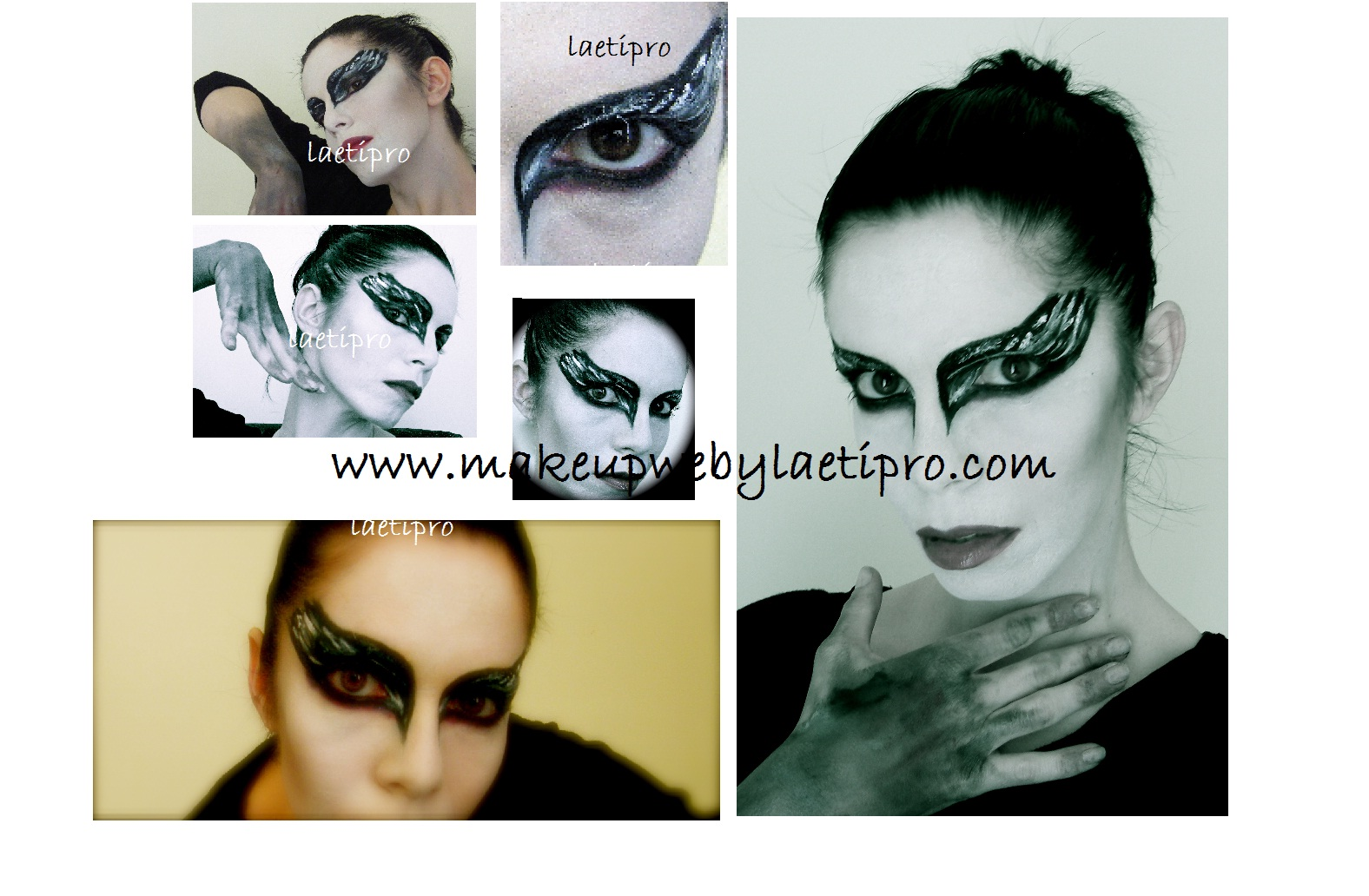 Tutoriel maquillage  Black swan